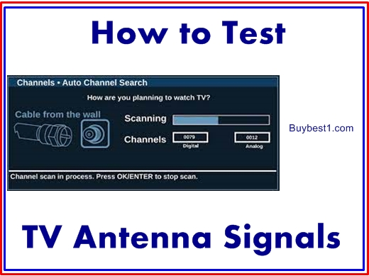 How to Test TV Antenna Signals