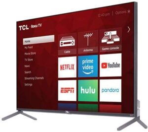 TCL 65R625 best gaming tv for xbox