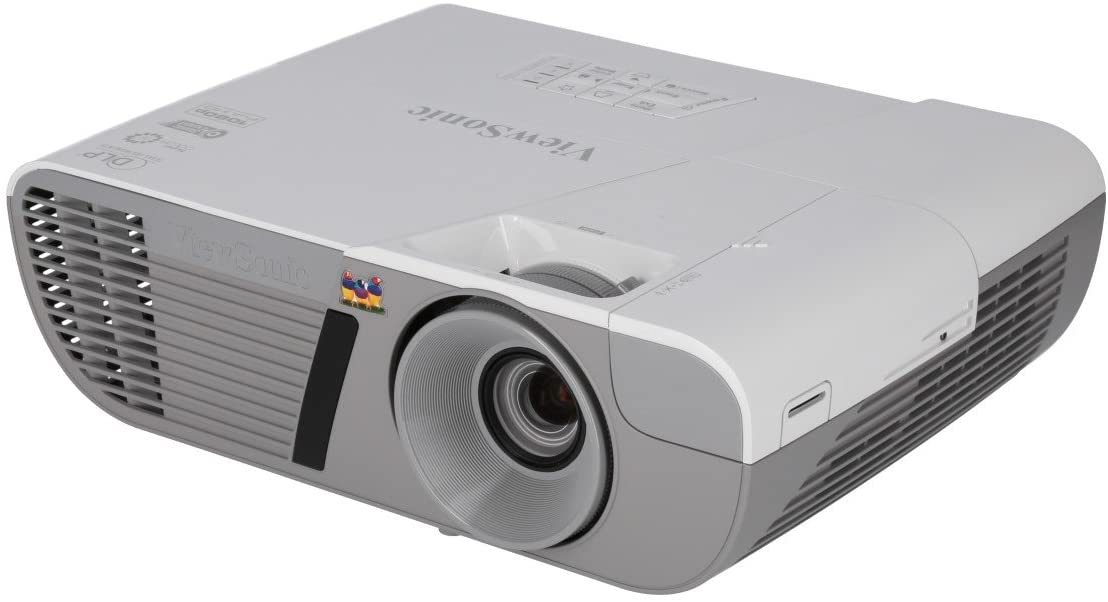 ViewSonic 3200 Lumens Full HD 1080p Shorter Throw Home Theater Projector with 3D DLP and HDMI, Stream Netflix with Dongle